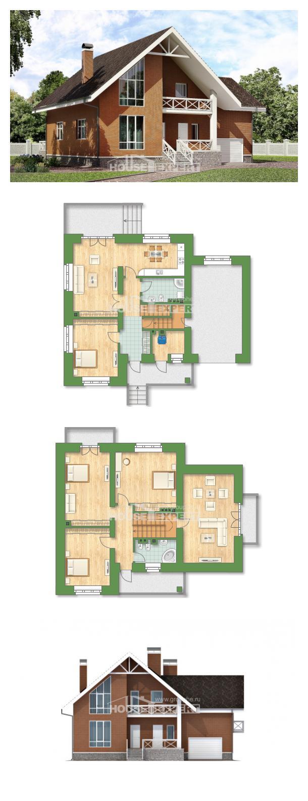 Проект дома 215-001-П | House Expert